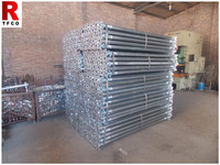 Galvanized painted scaffolding prop