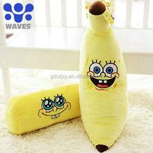 Promotion!!! lowest price vegetable& fruit soft stuffed toys:Sponge Bob Squarepants