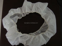 NONWOVEN disposable steering wheel cover white and clear color