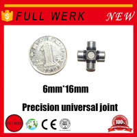 High precision FULL WERK micro machining universal joint/coupling crye precision for mechanical and steering part