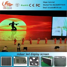 RGX e16 P7.62 indoor full color led display for Fashional Glass Stage/Folding stage/Folding mobile stage