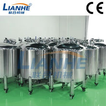100-10000L Stainless steel storage tank for shampoo, lotion, water, detergent/tank