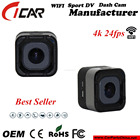 1.5 polegada mini Cube Camera wifi 4 k 24pfs esporte câmera 16 M 170 Graus câmera de ação