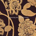 Poliéster reunindo barato tecido cortina de tecido