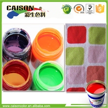 new products Eco friendly color latex for muslin printing