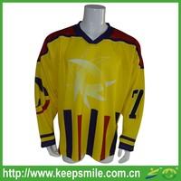 Custom Sublimation Hockey Jersey for Ice Hockey Sports