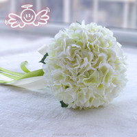 Artificial silk floral flower bouquet hydrangea home hotel floral decoration