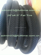 Bicycle tyre Fat tire 26x4.0 for beach cruiser MTB bicycle