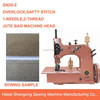 GN20-2 Single-Needle,Double-Thread Gunny Bag Overedging Sewing Machine Price