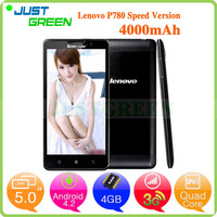 cellphone Lenovo P780 shenzhen mobile phone 5 inch MTK6589 Quad Cores 1GB 8GB Android 4.2 mobile smartphone