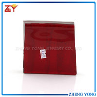 Good quanlity red raw materials glass for jewelry making
