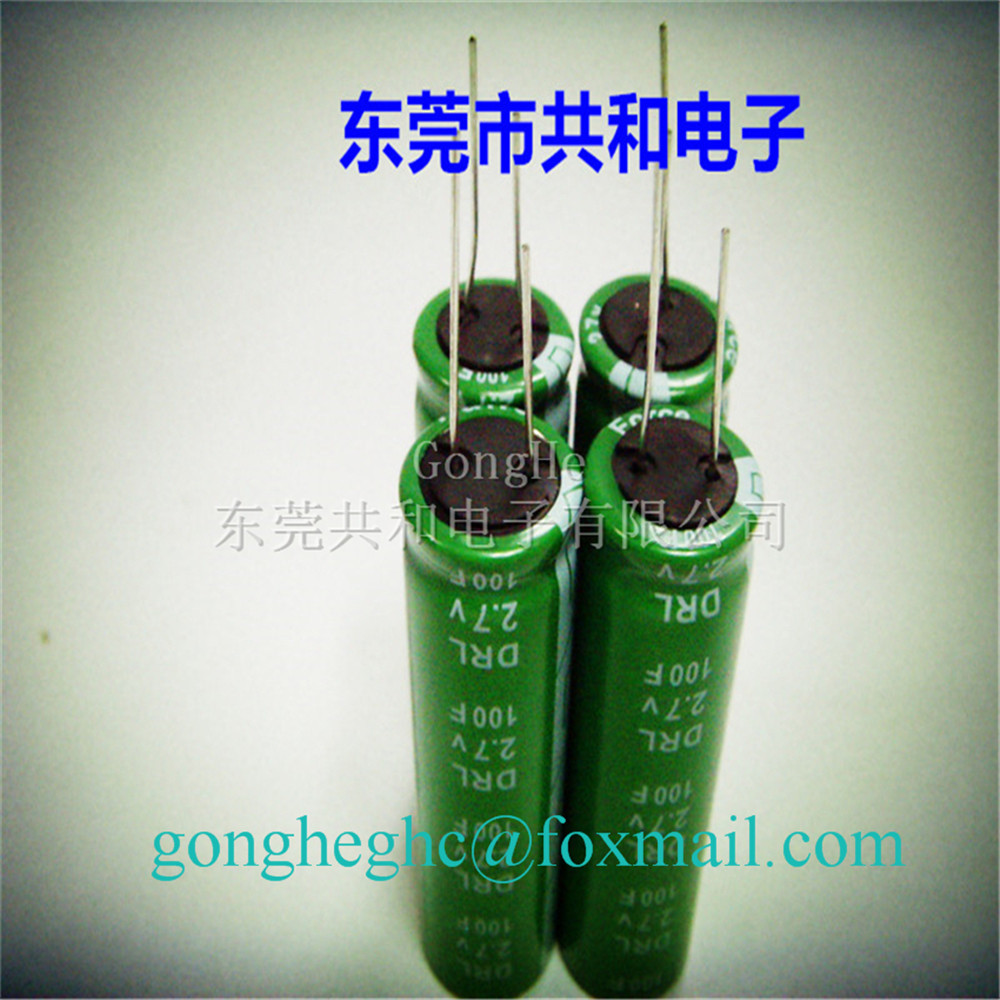 Pro Environment 100f 27v Supercapacitor Capacitor Buy Circuits Charging A 500 F It Charges Up 27v100f 5 Characteristics Of Super