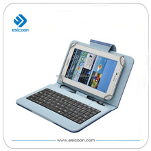 Wired keyboard case for 7 inch tablet