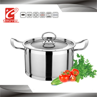 18cm hotel tableware mini cooking pot with stainless steel handle