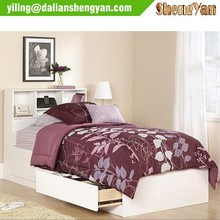 Modern Style Twin Bed with Drawers Underneath