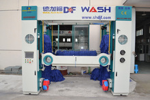Rollover Car Wash, Brush Car Wash, Car Wash Machine PE-R7 7Brushes or 5Brushes Automatic Drying System