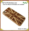 Hot sale! High quality UK flag design wood Phone Protective Shell cover Cases For 5.5 inch iPhone 6 plus