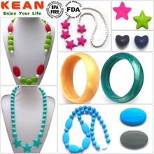 china manufacturer popular designs food grade bpa free silicone fashion jewelry made in china wholesale