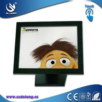 Good Quality 15 Inch Fanless LCD Industrial Touch Panel Computer All In One Aluminum Industrial Computer Systems