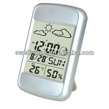 Home decor big display LCD alarm clock S004E meet CE and Rohs