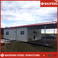 disassemble resist high winds prefab house offices & training room