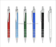 gift advertising click metal pen aluminum