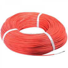 PVC Insulated Single Core Solid/Stranded Wires With Copper Conductor 008 Silicone Insulated Soft Wire UL1331 FEP Insulation Cabl