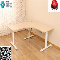 three feet sit stand electric height adjustable desk&table