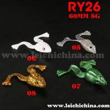 High quality 60mm 5g soft fishing lure fishing frog
