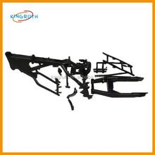Black aluminum pit bike frame fit for motorcycle dirt bike KTM250 frame