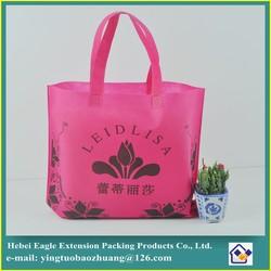 colorful shopping bags non woven fabric