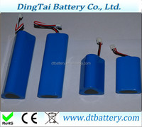 18650 3.7v 1800mah 3S2P 11.1V 5400mah 12V 5400mah li-ion rechargeable battery pack