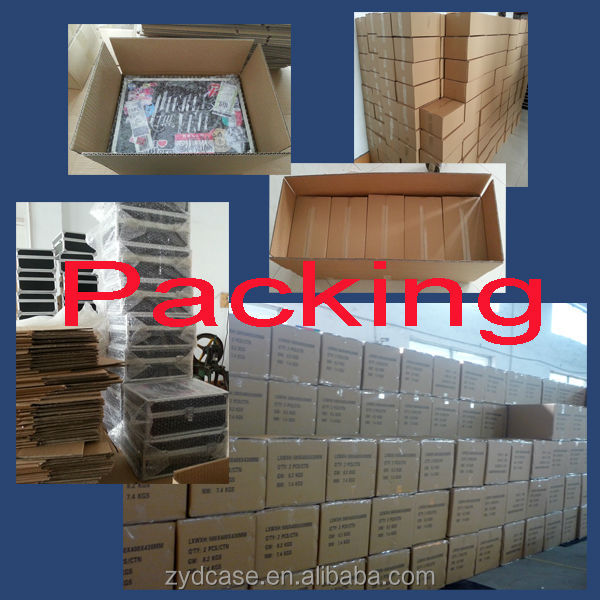 High quality professional custom cheap aluminum case aluminum tool case ZYD-GJ178