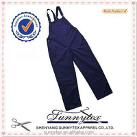 Sunnytex China factroy wholesale high quality denim overalls for men