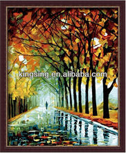 New design classic tree oil painting by numbers FRS 438