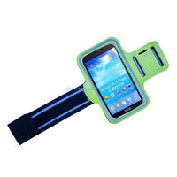Hot new sports clear pvc material armband cover case holder for smartphone armbands