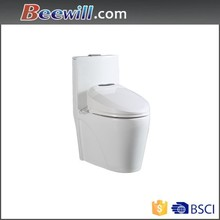 Sanitary ware bathroom one piece toilets &soft close seat Ceramic WC Toilet bowl
