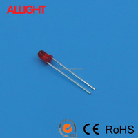 3mm round type light emitting diode LED diffused lens