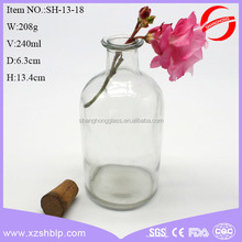 glass jar with wooden top