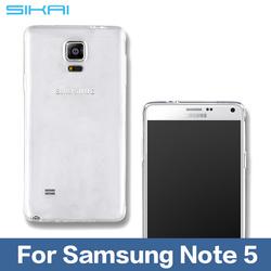 Luxury Ultra Thin Crystal Clear Soft TPU Gel Case For Samsung Galaxy Note 5