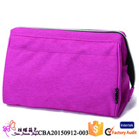 Waterproof nylon unisex personalized toiletry bag for travel