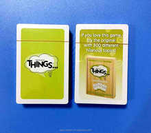 Cheap new design high quality card game wholesale