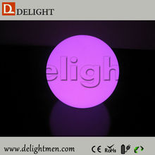 Hot sale lighting up remote control moon led floating water pool ball for garden