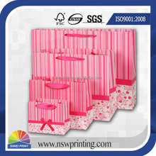Promotion high quality custom printed paper bags no minimum