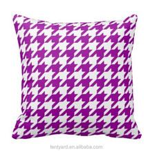 custom outdoor cotton elegant square throw down inflatable travel pillow