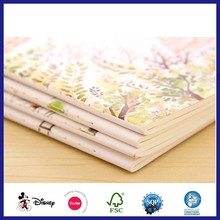 Biodegrade Eco Paper Fancy Printing School Supplies Stationery Composition Notebook