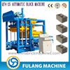 Automatic large concrete blocks making machine, concrete mixer line