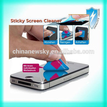 Promotional Gift! sticky mobile phone screen cleaner
