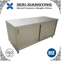 NSF Approval Stainless Steel Kitchen Cabinet