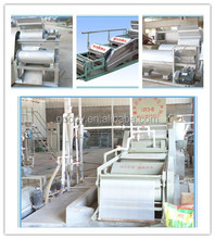 Goodway factory low energy consumption sweet potato / cassava processing plant for starch and flour processing